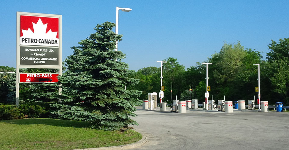 cardlock barrie petropass locations  bowman fuels